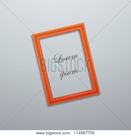 Vector illustration of frame