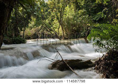 Three Tier Kuang Si Falls
