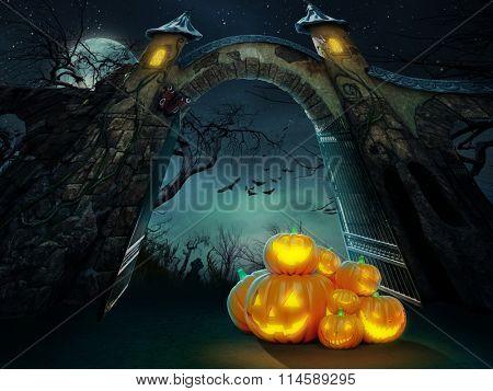 Helloween pumpkins