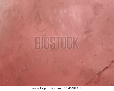Rose Quartz Closeup