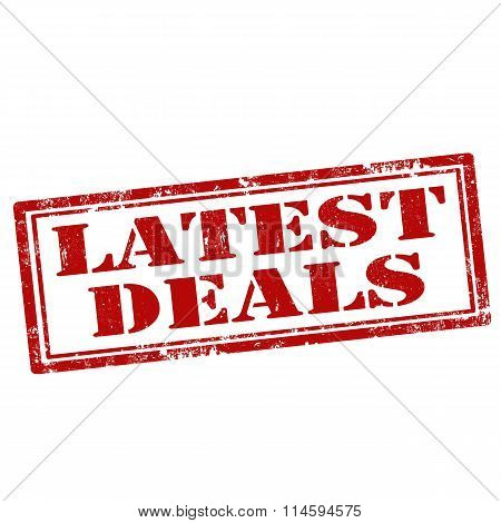 Latest Deals-stamp