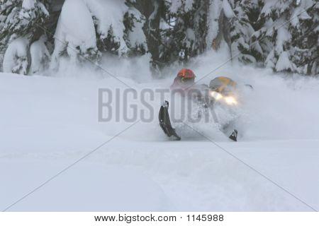 Snowmobile Powder