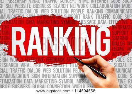 Ranking Word Cloud