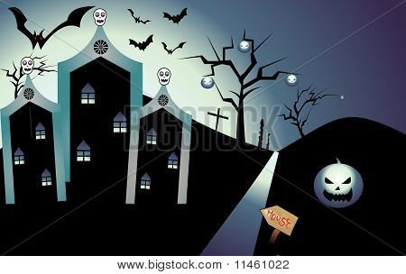 Abstract Holloween Background