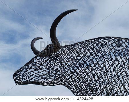 Wire Art Sculpture