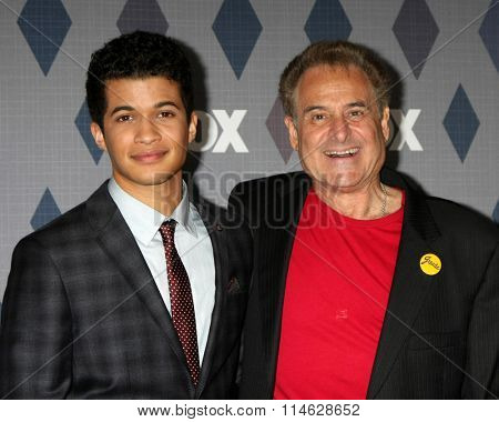 LOS ANGELES - JAN 15:  Barry Pearl, Jordan Fisher at the FOX Winter TCA 2016 All-Star Party at the Langham Huntington Hotel on January 15, 2016 in Pasadena, CA