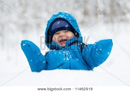 Happy In The Snow
