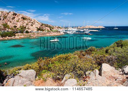 sardinia italy spalmatore bay to la maddalena island