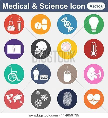 Medical And Science Icon