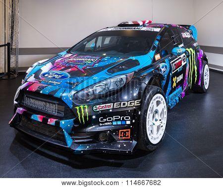 2013 Ford Fiesta ST RX43 - Ken Block Rallycross