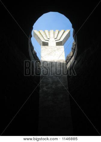 Dachau Menorah