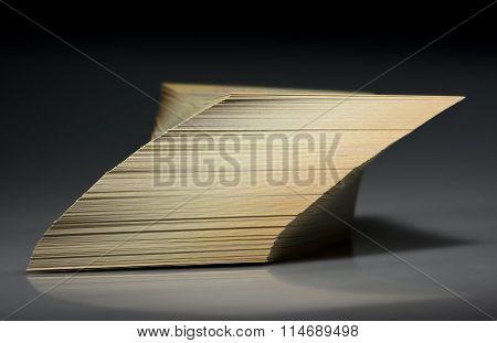 Tilted Cards Stack