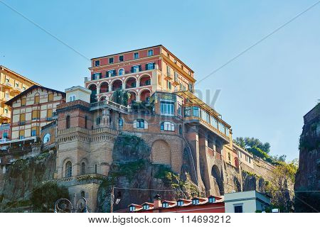 Sorrento, Italy. Sorrento is one of the most expensive resorts. beautiful view.