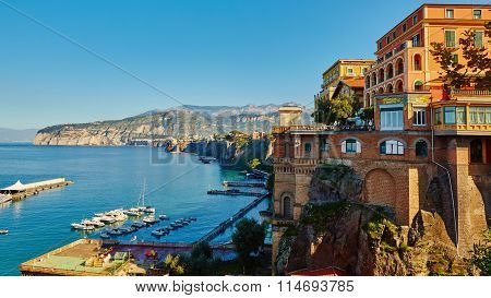 Sorrento, Italy. European resort.
