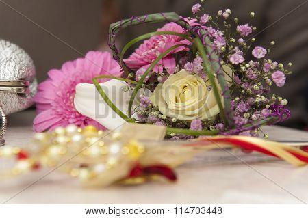 Een bruidsboeket