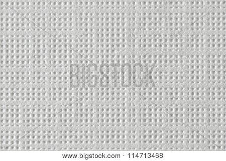 White Textured Paper - Macro