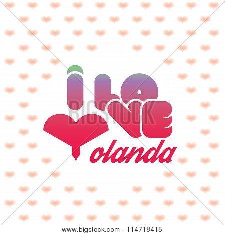 I love Yolanda