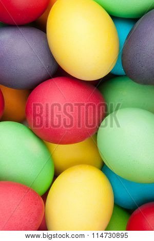 color eggs for holiday easter, background