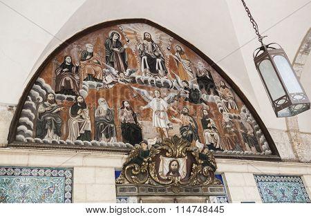 Saint James Cathedral. Jerusalem, Israel.