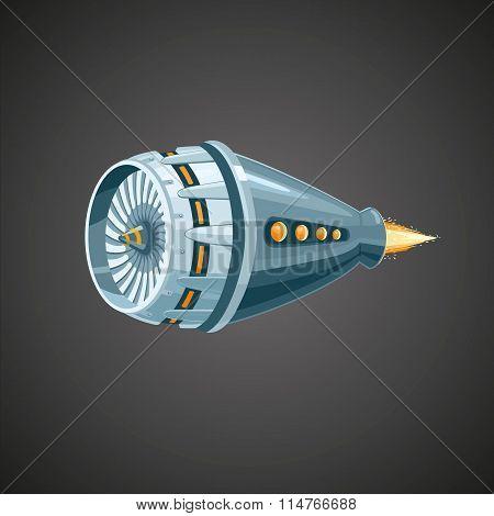 Modern reactive turbine