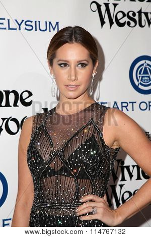 vLOS ANGELES - JAN 9:  Ashley Tisdale at the The Art of Elysium Ninth Annual Heaven Gala at the 3LABS on January 9, 2016 in Culver City, CA