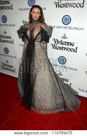 vLOS ANGELES - JAN 9:  Juliette Lewis at the The Art of Elysium Ninth Annual Heaven Gala at the 3LABS on January 9, 2016 in Culver City, CA