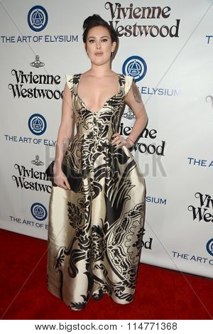 vLOS ANGELES - JAN 9:  Rumer Willis at the The Art of Elysium Ninth Annual Heaven Gala at the 3LABS on January 9, 2016 in Culver City, CA