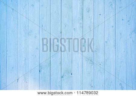 Pale Blue Wood Plank Surface Texture