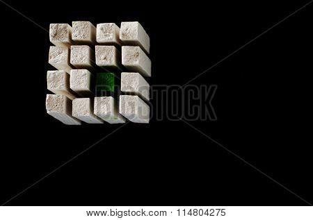 Chalk Cube II., Logo