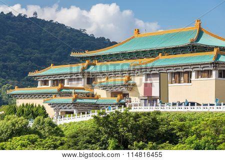 Gugong National Palace Museum in Taipei, Taiwan