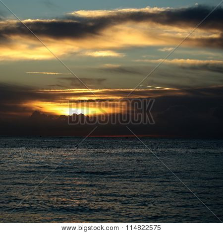 Spectacular Marine Sunset