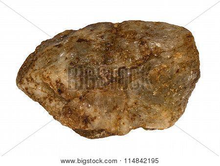 Olivine Stone From India/brazil Isolated
