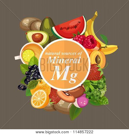 Minerals, vitamins and supplements. Healthy foods.