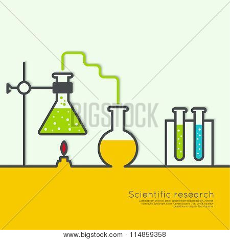 The concept of chemical science research lab