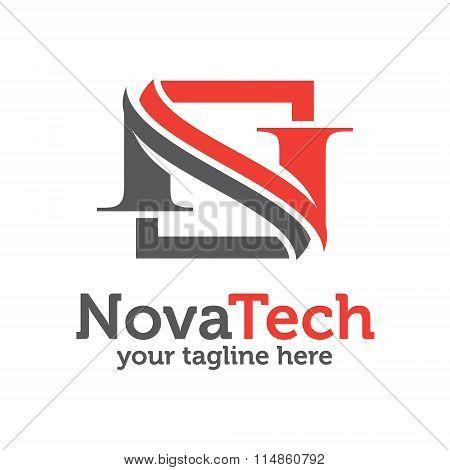 Letter N Logo Template . Letter N Logo Vector For Any Business.