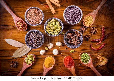 Assortment Of Spices