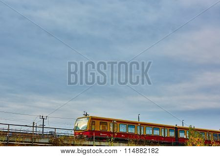 The Berlin S-Bahn is a rapid transit railway system in and around Berlin, the capital city of German