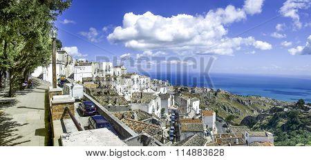 Monte Sant Angelo - Panorama Adriatic Sea - Gargano - Puglia