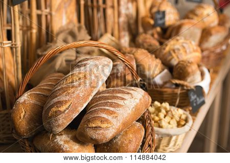 Baskets Of Bread
