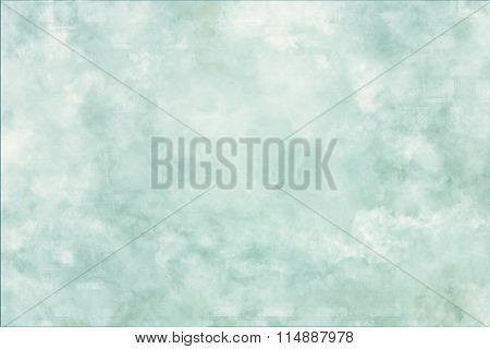 Abstract Green Background With Soft Vintage.