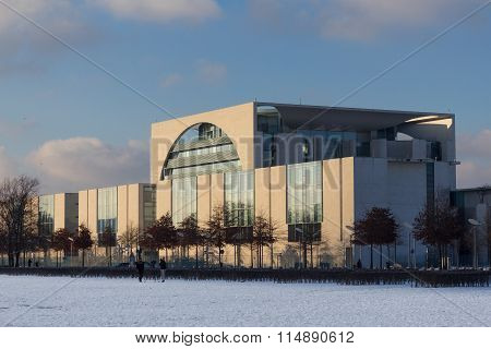 The Bundeskanzleramt in Berlin, germany - german chancellery