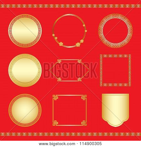 Chinese new year frame