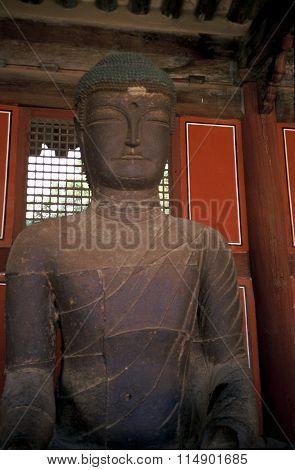 Buddhist Sculpture at the Gyeongbok Palace