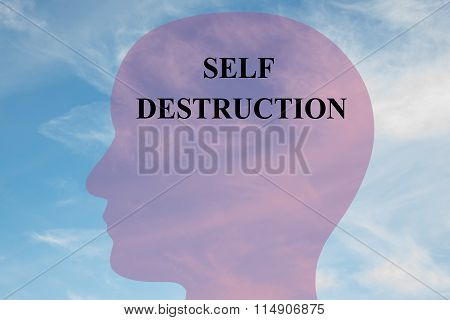 Self Destruction Concept