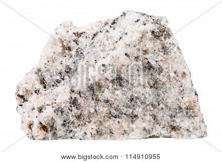 Specimen Of Schist Mineral Stone Isolated