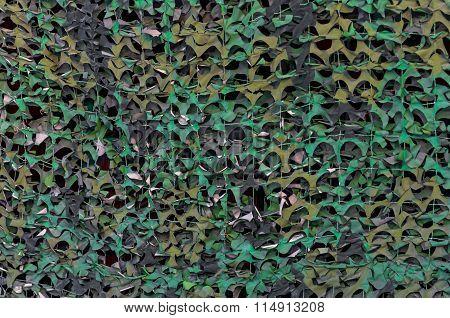 Leaf Camouflage Net Background