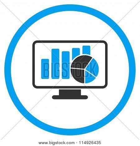 Statistics Flat Icon