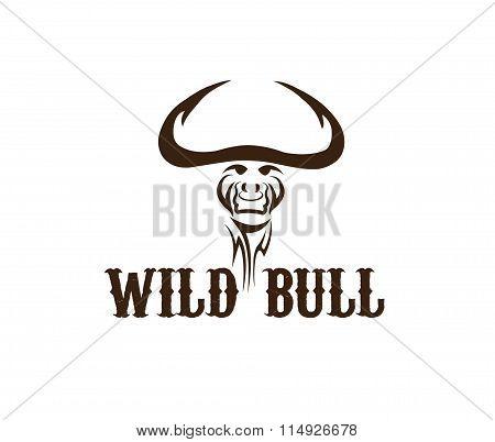 Head Of Wild Bull