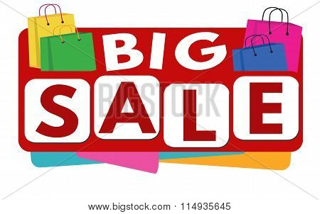 Big Sale Banner Or Label