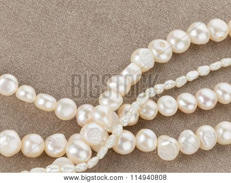Beads Made Of Beautiful Pearls